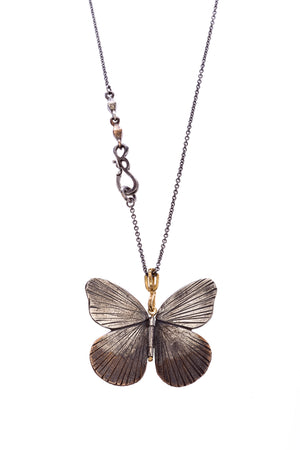 Asterope Butterfly Pendant