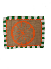 Load image into Gallery viewer, Orange squeeze, place mats- Home wares