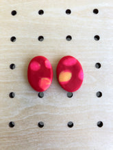 Load image into Gallery viewer, Red dot single stud-Earrings