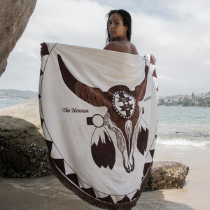 MYKONOS TOWEL/ Brown