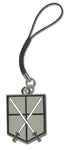 ATTACK ON TITAN - 104TH TRAINEES SQUAD EMBLEM CELL PHONE CHARM