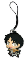 ATTACK ON TITAN - SD EREN PVC CELL PHONE CHARM