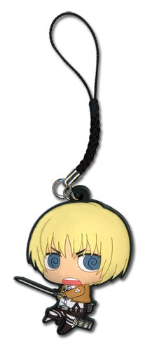 ATTACK ON TITAN - SD ARMIN PVC CELL PHONE CHARM