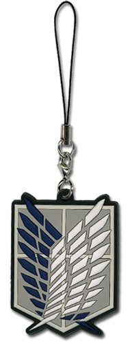 ATTACK ON TITAN - SURVEY CORP PVC CELL CHARM