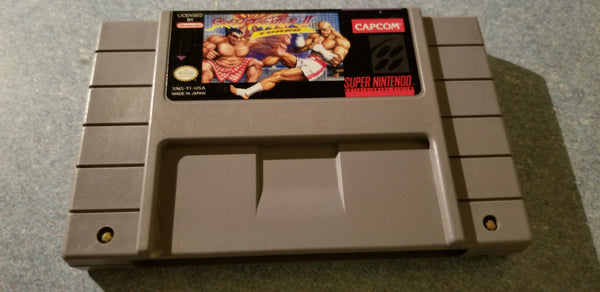 Street Fighter II Turbo - Super NES