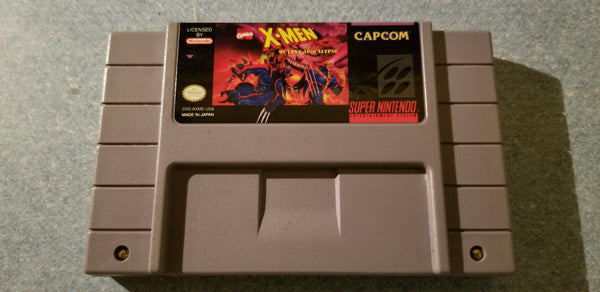X-Men: Mutant Apocalypse - Super NES