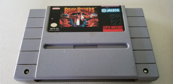Brawl Brothers - Super NES