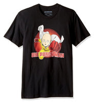 "One Punch Man ""Basic One"" Saitama Flying Adult Shirt"