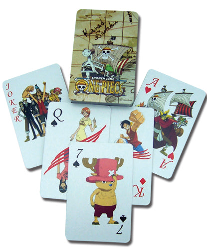 ONE PIECE PLAYING CARDS
