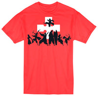 FIRE FORCE - GROUP SILHOUETTE ADULT SHIRT