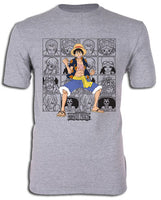 ONE PIECE - DRESSROSA ARC STRAW HAT PORTRAITS ADULT SHIRT