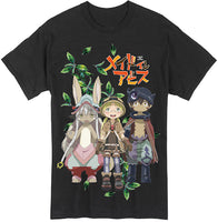 MADE IN ABYSS - GROUP ADULT SHIRT