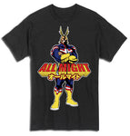MY HERO ACADEMIA - ALL MIGHT ADULT SHIRT - BLACK