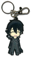 SWORD ART ONLINE - HAPPY KIRITO SD PVC KEYCHAIN