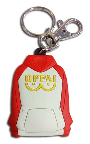 ONE PUNCH MAN - OPPAI JACKET PVC KEYCHAIN