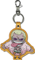 ONE PIECE - SD DOFLAMINGO PU KEYCHAIN