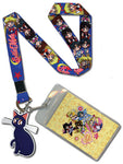 SAILOR MOON - SD MAIN GIRLS LANYARD
