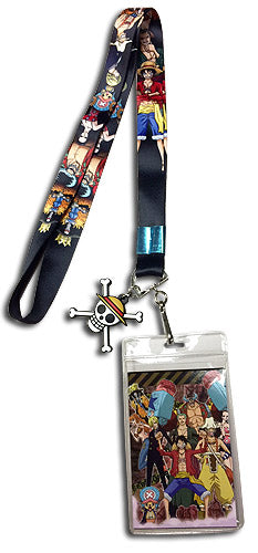 ONE PIECE - STRAW HAT CREW LINE-UP LANYARD