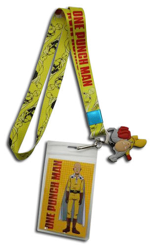 ONE PUNCH MAN - SAITAMA ALL OVER LANYARD