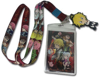 THE SEVEN DEADLY SINS - GROUP LANYARD