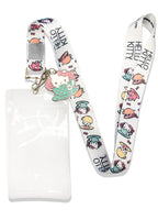 HELLO KITTY - HELLO KITTY IN THE TEA CUP LANYARD WITH CHARM