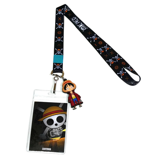 One Piece Jolly Roger Symbols Lanyard
