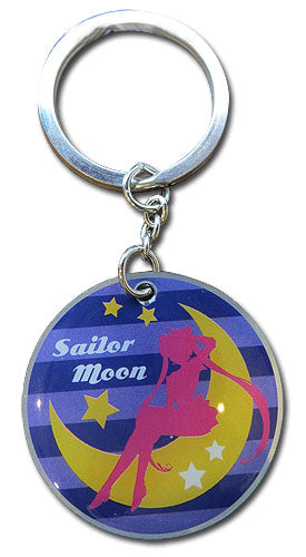 SAILOR MOON S - SAILOR MOON SILHOUETTE KEYCHAIN