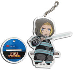FIRE FORCE - SD ARTHUR BOYLE ACRYLIC KEYCHAIN