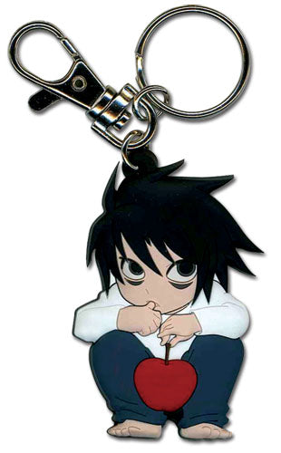 DEATH NOTE L SD PVC KEYCHAIN