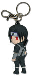 NARUTO ITACHI IN FIGHTING GEAR PVC KEYCHAIN