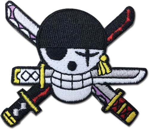 ONE PIECE - ZORO NEW WORLD SKULL PATCH