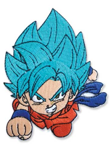 DRAGON BALL SUPER - SSGSS GOKU PATCH 3.5""