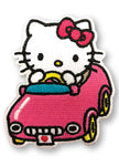 HELLO KITTY - HELLO KITTY IN THE CAR PATCH