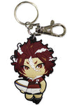 ALL OUT!! - SEKIZAN PVC KEYCHAIN