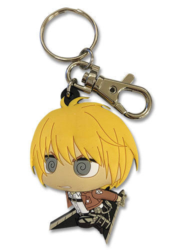 ATTACK ON TITAN S2 - SD ARMIN PVC KEYCHAIN