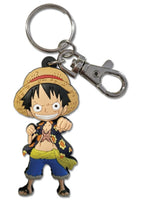 ONE PIECE - LUFFY PVC KEYCHAIN (Fist Pose)