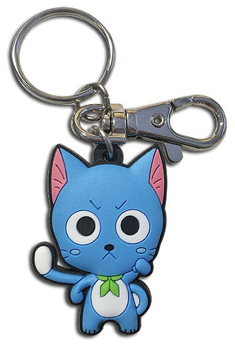 FAIRY TAIL - S8 SD HAPPY PVC KEYCHAIN