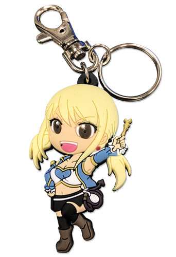 FAIRY TAIL - S7 SD LUCY SET 2 PVC KEYCHAIN