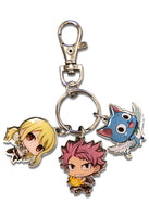 FAIRY TAIL - S7 SD GROUP 01 METAL KEYCHAIN