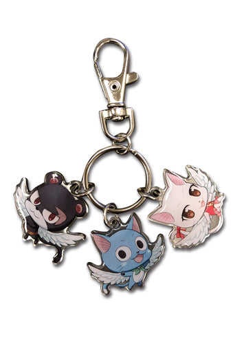 FAIRY TAIL - SD GROUP 03 METAL KEYCHAIN