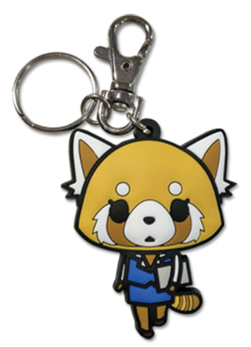 AGGRETSUKO - WORKING PVC KEYCHAIN