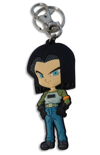 DRAGON BALL SUPER - SD ANDROID 17 PVC KEYCHAIN