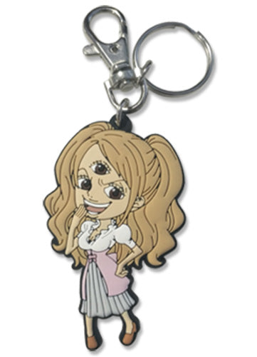 ONE PIECE - PUDDING PVC KEYCHAIN