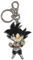 DRAGON BALL SUPER - SD GOKU BLACK METAL KEYCHAIN