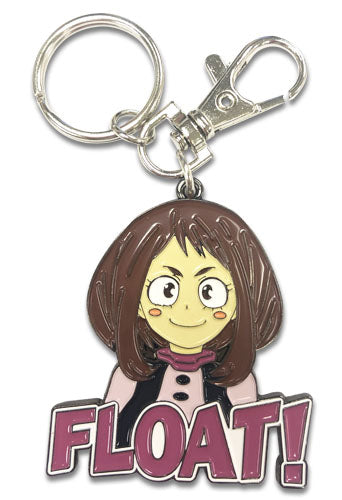 MY HERO ACADEMIA - OCHACO METAL KEYCHAIN FLOAT!