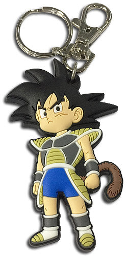 DRAGON BALL SUPER BROLY - GOKU KID PVC KEYCHAIN