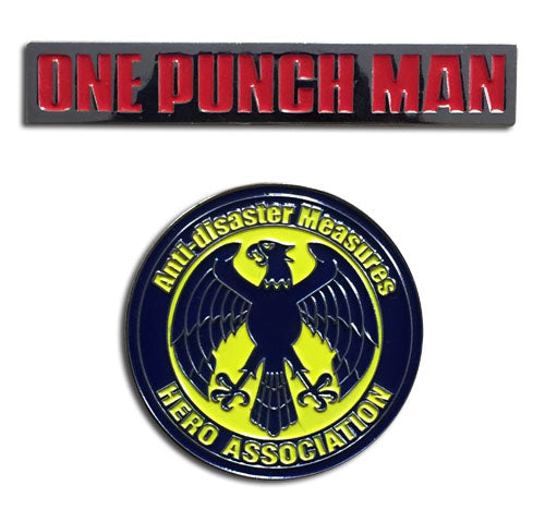 ONE PUNCH MAN - HERO ASSOCIATION & OPM PINS