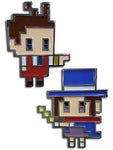 ACE ATTORNEY - APOLLO & TRUCY PINS