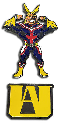 MY HERO ACADEMIA - UA HS & ALL MIGHT PIN