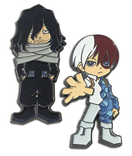 MY HERO ACADEMIA - SHOTO & AIZAWA PINS